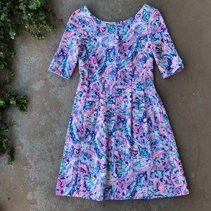 Lilly Pulitzer Neon Swirl La Playa Celia Dress
